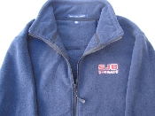 JACKET - FLEECE SJB COUGARS-Navy