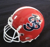 HELMET - SJB FOOTBALL MINIATURE