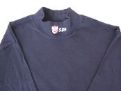 UNIFORM MOCK NECK-Blue