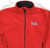 JACKET - FLEECE SJB COUGARS-Red