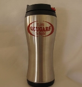 TRAVEL MUG-COUGARS