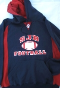 SWEATSHIRT - FOOTBALL HOODIE-Navy