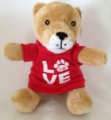 STUFFED ANIMAL-COUGAR LOVE SJB
