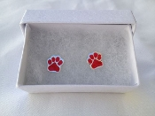 EARRINGS-COUGAR PAW